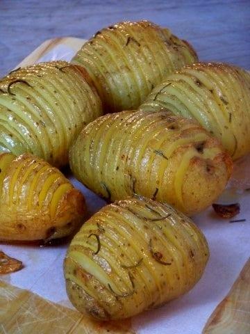 Hasselback aardappels (Small)