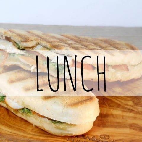 overzicht lunch