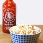 Sriracha popcorn - popcorn met een kick!