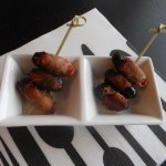 Dadels met bacon - een supersimpel hapje, maar ook superlekker! :D