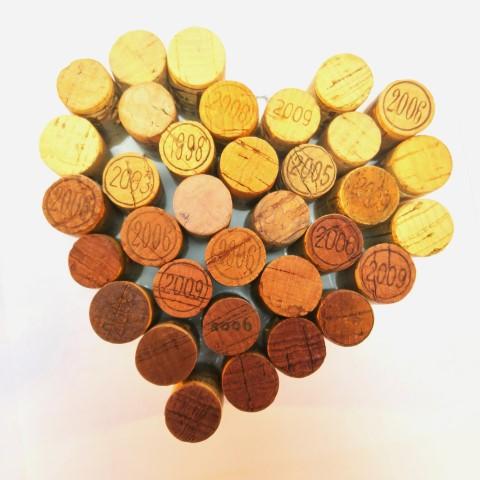 DIY: een kurken hart