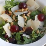 Rucolasalade met druiven