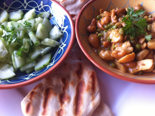 Curry met cashewnoten (Sri Lankaans)