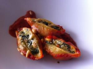 Gevulde pasta met spinazie3