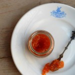 Physalis jam met groene thee