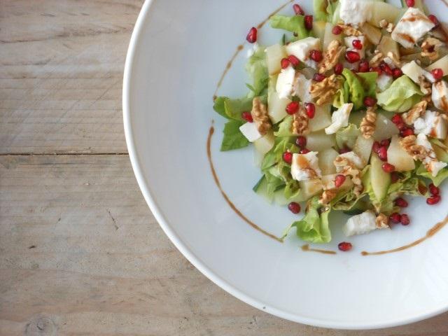 Salade met peer en geitenkaas (Small)