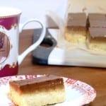 Millionaire shortbread met gezouten karamel
