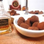 Chocoladetruffels met whisky/whiskey