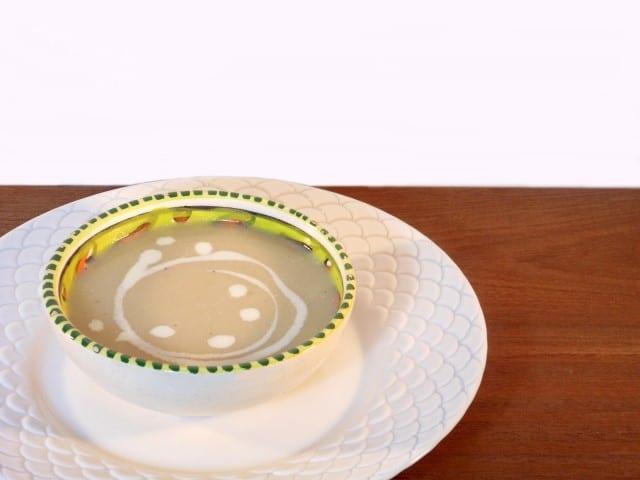 aspergesoep met witte kool
