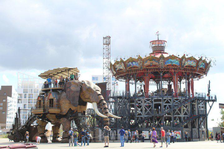 Grand Éléphant ride - the Machines de l'île