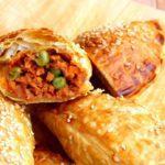 Empanada's met vegetarisch gehakt