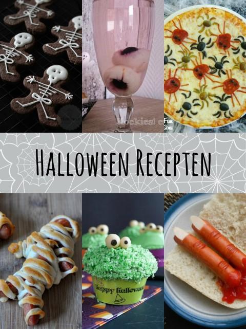 Halloween Recepten - De griezeligste hapjes die je kan vinden! :D
