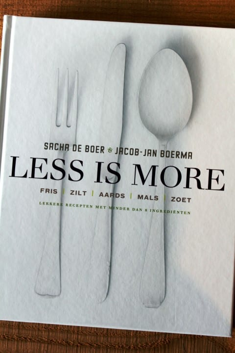 Sacha de Boer - Less is more