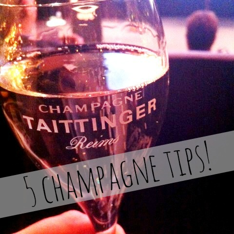 5 champagne tips