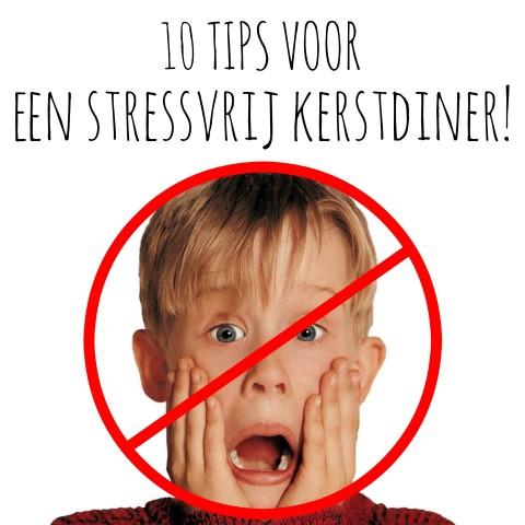 10 tips voor een stressvrij kerstdiner!