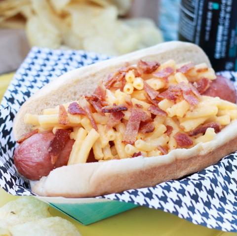 Bacon Mac n' Cheese Dogs