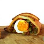 Vegetarische Wellington met curry