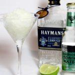 Gin Tonic Granita met vlierbloesem