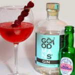 Goodmans Gin frambozen rozen cocktail