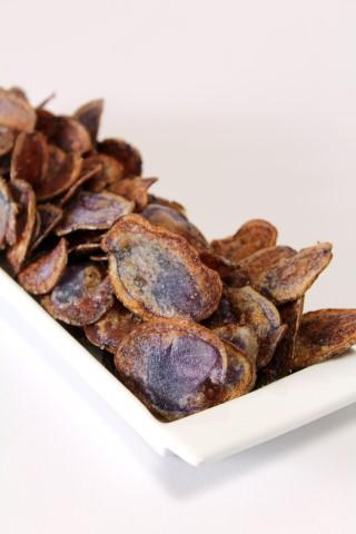Chips van truffelaardappel