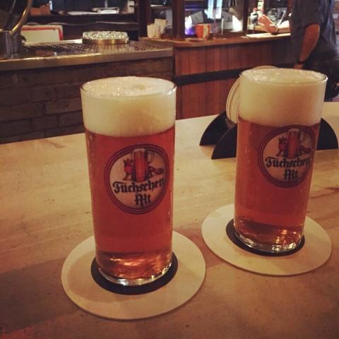 Düsseldorf Brouwerij im Füchschen