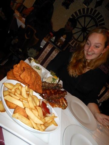 Wenen: Restaurant Leopoldauer Alm