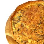 Quiche met broccolistronk en pecorino