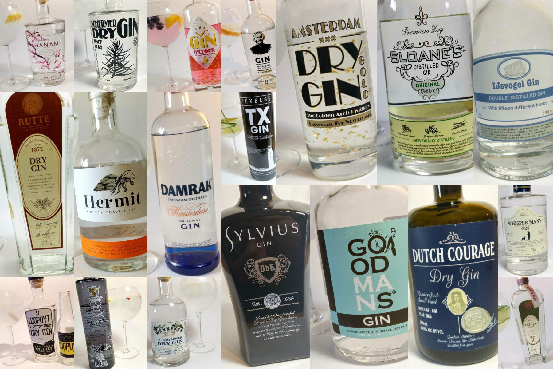 Nederlandse Gin - een overzicht