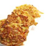 Koolrabi en wortel fritters