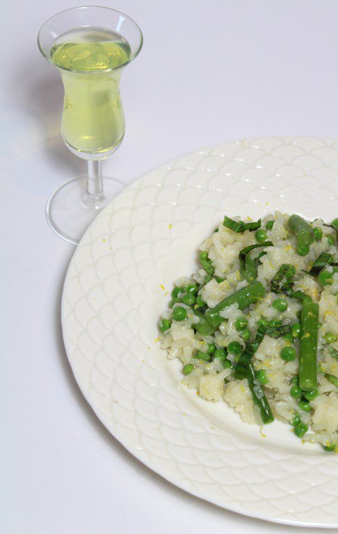 Risotto met Limoncello