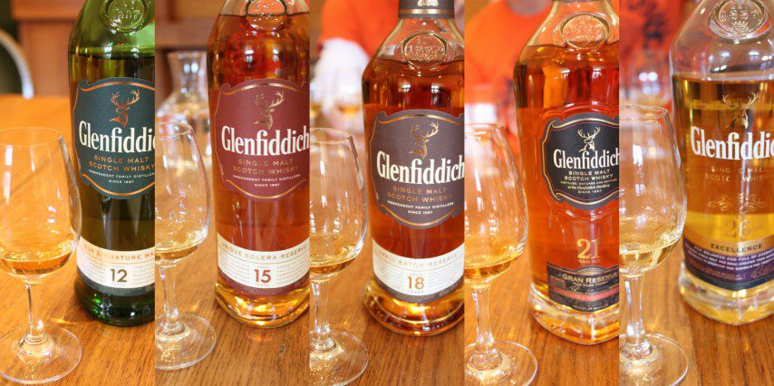 Glenfiddich tasting
