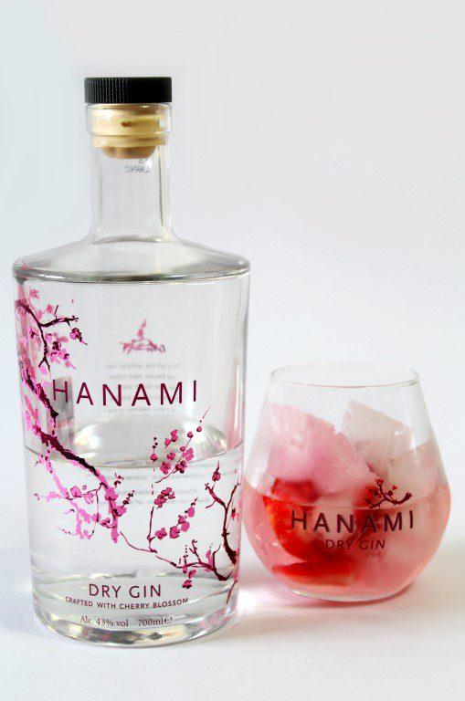 Hanami Gin met kersenbloesem & aardbeien