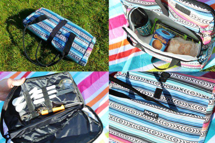 Pack It Koeltas Picknick Tote - 8,2 l - Fiesta