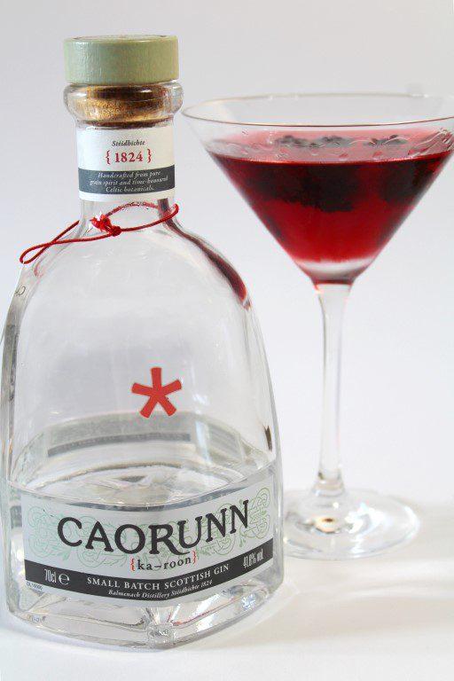 Rowan Martini met Caorunn Gin