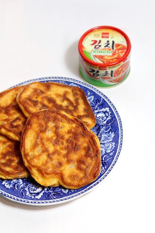 Kimchi fritters / pannenkoekjes