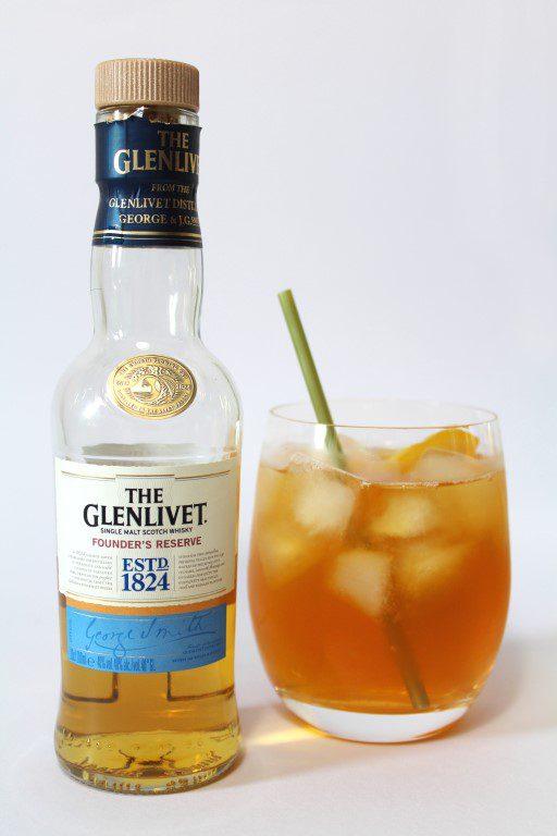 Glenlivet Founders Reserve whisky 18+ijsthee