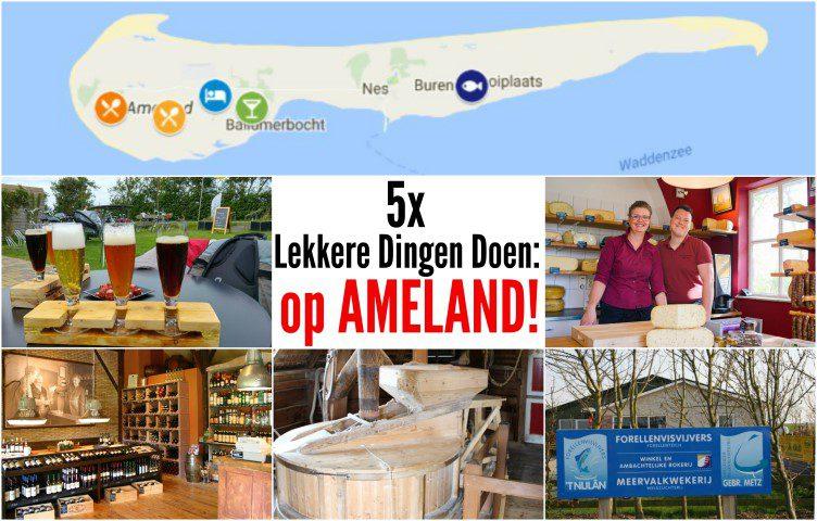 5x lekkere dingen doen op Ameland!
