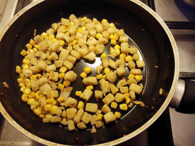 Maissoep uit een broodje!