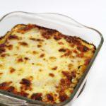 Pompoen lasagne met salie en walnoten