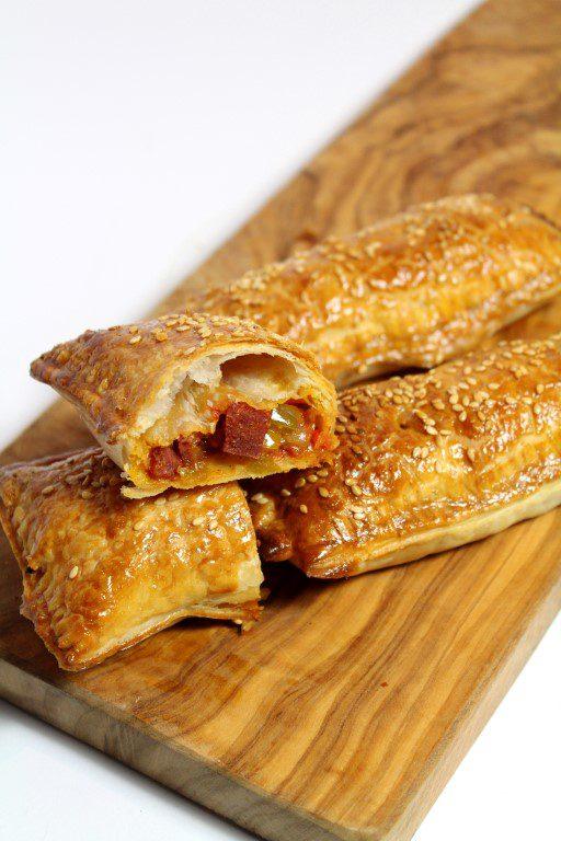Chorizo saucijzenbroodjes