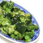 Gestoomde broccoli met oosters tintje