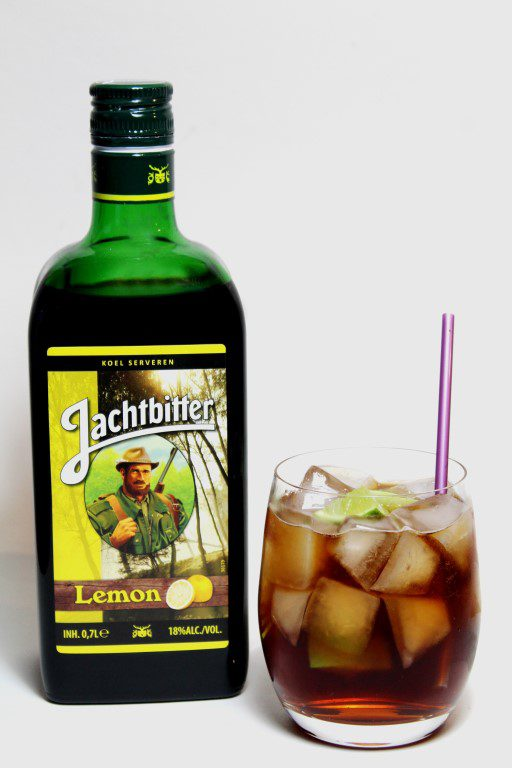 Jachtbitter Lemon cocktail