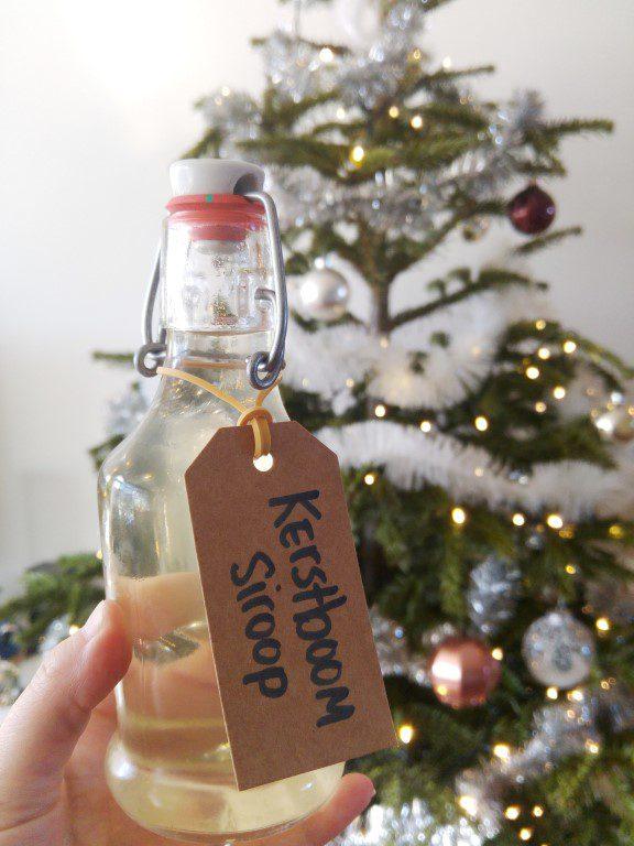 Kerstboom siroop