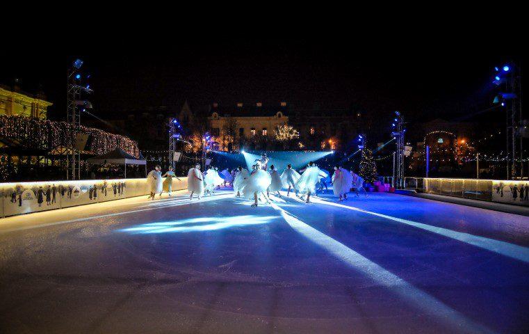 Kerstmarkt in Zagreb