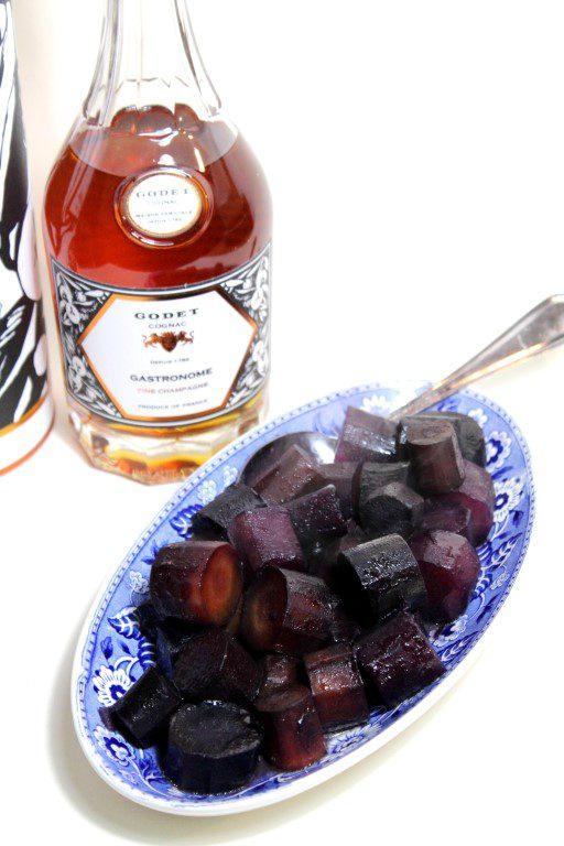 Sous vide wortels met cognac