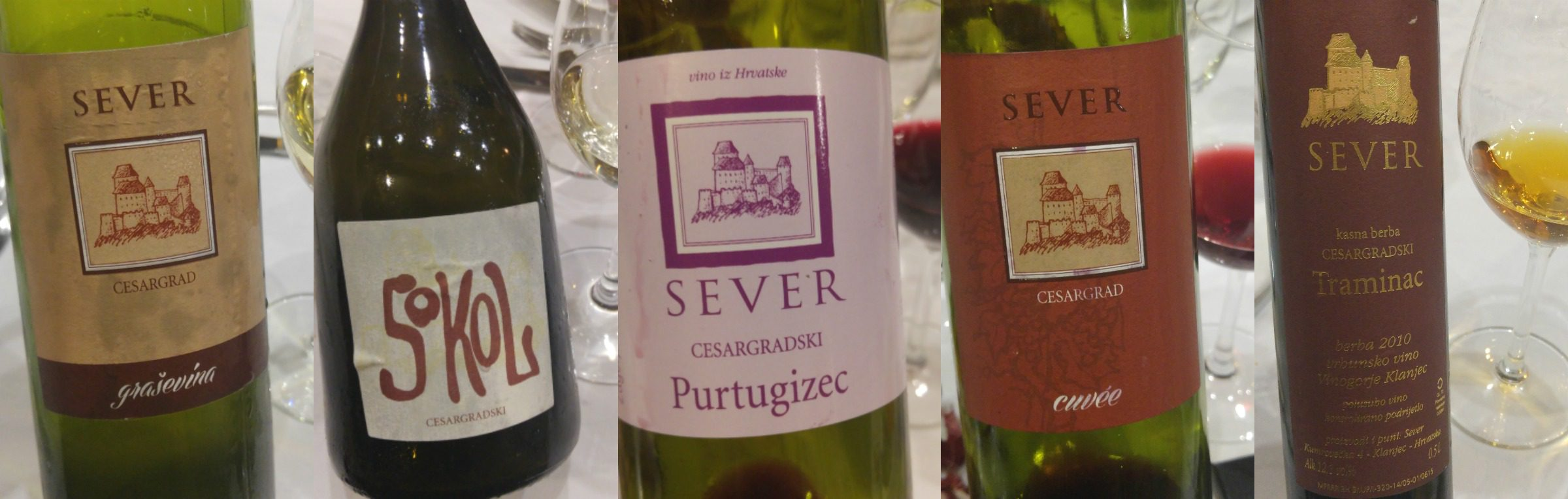 THE SEVER WINERY wine tasting