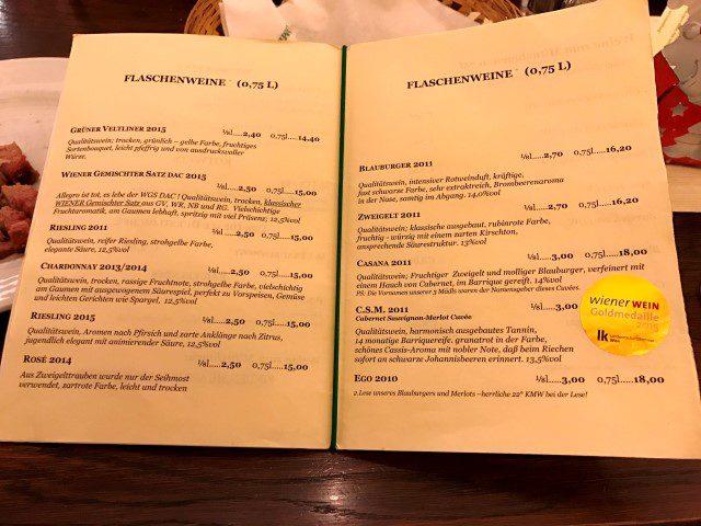 Weingut Helm - Een kijkje bij de heurigen in Wenen