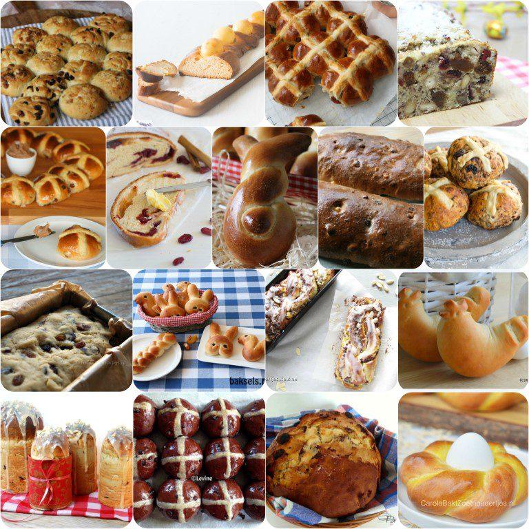 Paasbrood maken - Een overzicht van Nederlandse foodbloggers!