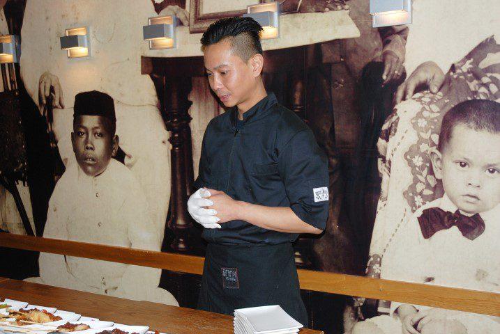 Chefkok Hendra Subandrio - Restaurant Blauw Amsterdam