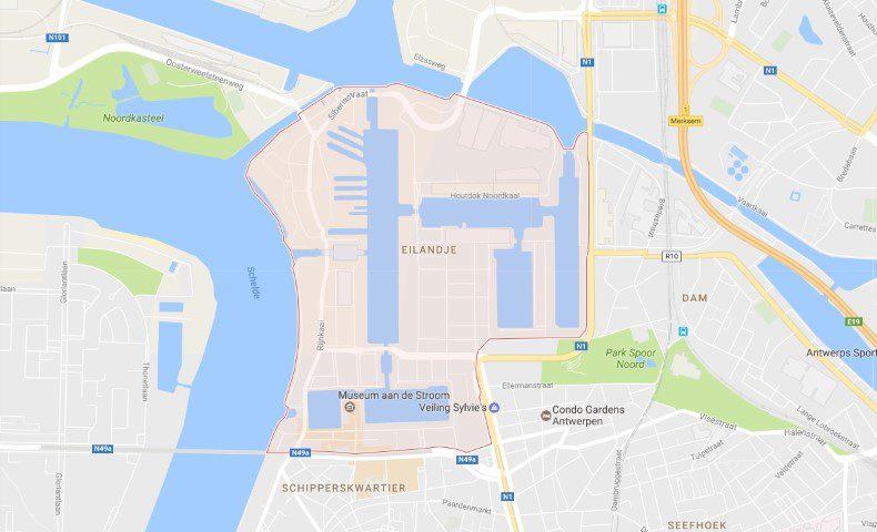 Het Eilandje van Antwerpen